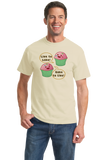 Standard Natural Live to Bake, Bake to Live - Cute Baker Cooking Funny Baking T-shirt