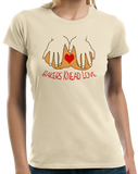 Ladies Natural Bakers Knead Love - Baker Humor Pun Funny Dough Bread Cake Pie T-shirt