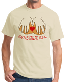 Standard Natural Bakers Knead Love - Baker Humor Pun Funny Dough Bread Cake Pie T-shirt