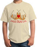Youth Natural Bakers Knead Love - Baker Humor Pun Funny Dough Bread Cake Pie T-shirt