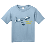 Youth Light Blue Mom's Cafe, Open 24 Hours - Cute Mom Cooking Mother's Day Baker T-shirt