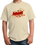 Youth Natural Pie Fiend - Pie Lover Baking Fiend Funny Dessert Lover Apple Pie T-shirt