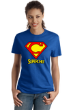 Ladies Royal Super-Chef! - Superhero Chef Funny Cute Nerd Foodie Geek T-shirt