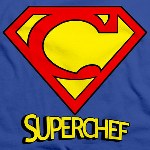 SUPER-CHEF! Royal Blue art preview