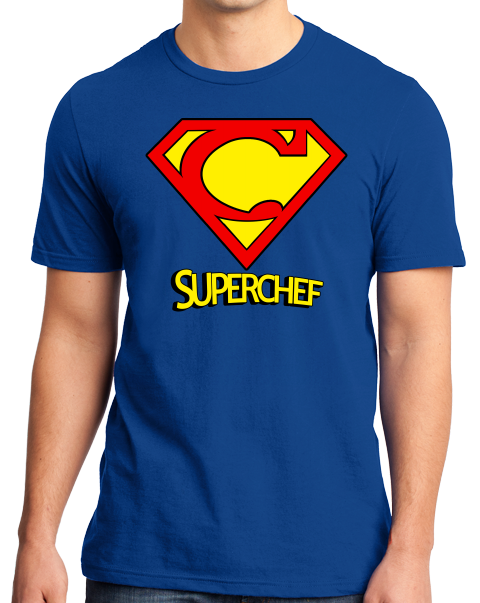 Standard Royal Super-Chef! - Superhero Chef Funny Cute Nerd Foodie Geek T-shirt