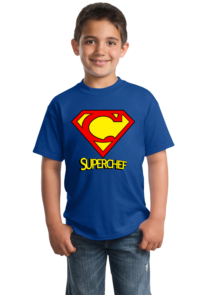 Youth Royal Super-Chef! - Superhero Chef Funny Cute Nerd Foodie Geek T-shirt