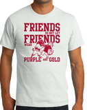 Standard White Football Fan from Arkansas T-shirt