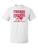 Unisex White Football Fan from Arkansas T-shirt