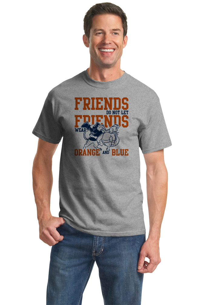 Standard Grey Lee County, AL Football Fan T-shirt