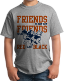 Youth Grey Lee County, AL Football Fan T-shirt