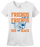 Ladies White Football Fan from Florida T-shirt