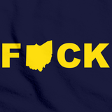 F*ck Ohio | College Sports Rivalry Navy art preview
