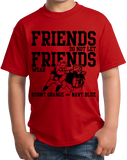 Youth Red Football Fan from Georgia T-shirt