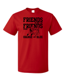 Standard Red Football Fan from Georgia T-shirt