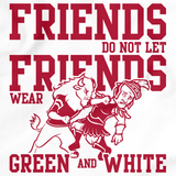 INDIANA FOOTBALL FAN TEE White art preview