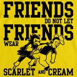 IOWA FOOTBALL FAN TEE Yellow art preview