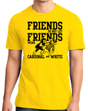 Standard Yellow IOWA FOOTBALL FAN TEE T-shirt