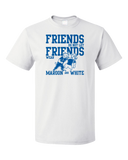 Standard White Football Fan from Kentucky T-shirt