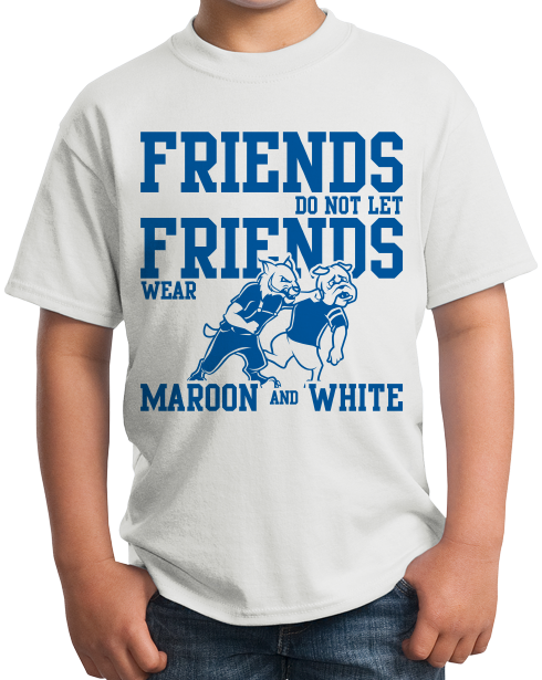 Youth White Football Fan from Kentucky T-shirt