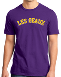 Standard Purple Les Geaux - College Sports Rivalry Louisiana Pride Fan T-shirt