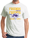 Standard White Football Fan from Lousiana T-shirt