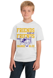 Youth White Football Fan from Lousiana T-shirt
