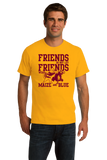 Standard Gold MINNESOTA FOOTBALL FAN TEE T-shirt