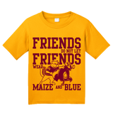Youth Gold MINNESOTA FOOTBALL FAN TEE T-shirt