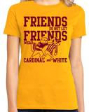 Ladies Gold MINNESOTA FOOTBALL FAN TEE T-shirt
