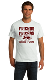 Standard White Football Fan from Mississippi T-shirt