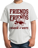 Youth White Football Fan from Mississippi T-shirt