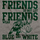 EAST LANSING FOOTBALL FAN TEE Grey art preview