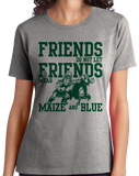 Ladies Grey EAST LANSING FOOTBALL FAN TEE T-shirt