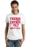 Ladies White NEBRASKA FOOTBALL FAN TEE T-shirt