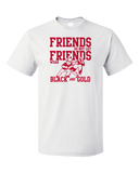 Standard White NEBRASKA FOOTBALL FAN TEE T-shirt