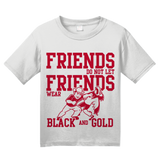 Youth White NEBRASKA FOOTBALL FAN TEE T-shirt