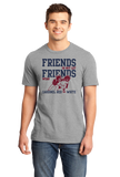 Standard Grey Football Fan from Mississippi T-shirt