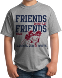 Youth Grey Football Fan from Mississippi T-shirt