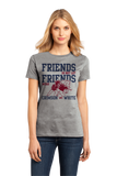 Ladies Grey Football Fan from Mississippi T-shirt