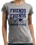 Ladies Grey PENNSYLVANIA FOOTBALL FAN TEE T-shirt