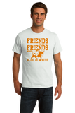 Standard White Football Fan from Tennessee T-shirt