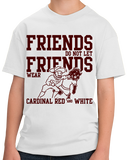 Youth White Football Fan from Texas T-shirt