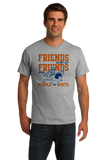 Standard Grey ILLINOIS FOOTBALL FAN TEE T-shirt