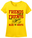 Ladies Yellow MARYLAND FOOTBALL FAN TEE T-shirt
