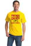 Standard Yellow MARYLAND FOOTBALL FAN TEE T-shirt