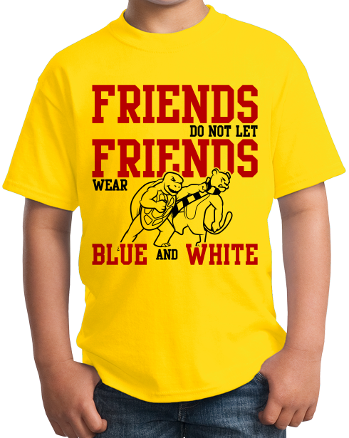 Youth Yellow MARYLAND FOOTBALL FAN TEE T-shirt