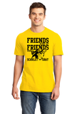 Standard Yellow MICHIGAN FOOTBALL FAN TEE T-shirt