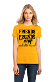 Ladies Gold Football Fan from Nashville T-shirt