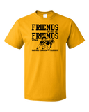 Standard Gold Football Fan from Nashville T-shirt