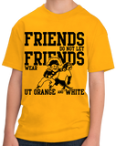 Youth Gold Football Fan from Nashville T-shirt